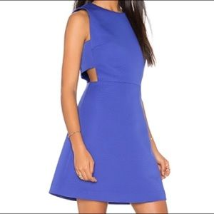 kate spade Dresses - Kate Spade Cut Out A-line Dress in Indigo Ink